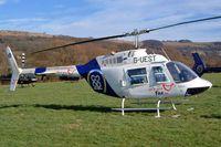 G-UEST @ EGBC - Bell 206B Jet Ranger II [1484] Cheltenham Racecourse~G 16/03/2004