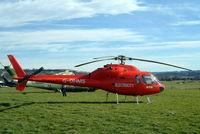 G-OHMS @ EGBC - Aerospatiale AS.355F1 Ecureuil II [5194] (Western Power Distribution) Cheltenham Racecourse~G 16/03/2004