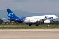 C-GPTS @ LDZA - TS300 AirTransat Arrival from YYZ - by planetarac