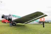 HB-HOP @ LFFQ - Junkers Ju-523m g4e, Displayed at La Ferté-Alais airfield (LFFQ) Airshow 2015 - by Yves-Q