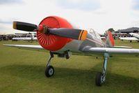 G-HAMM @ LFFQ - Yakovlev Yak-50, Static display, La Ferté-Alais Airfield (LFFQ) Air show 2015 - by Yves-Q