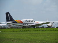 ZK-PIW @ NZAR - on grass at ardmore - by magnaman