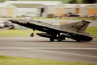 AR-119 @ EGVA - Royal Danish Air Force arriving at IAT. - by kenvidkid