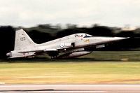 133 @ EGVA - Norwegian Air Force departing IAT. - by kenvidkid