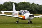 G-BYPN @ EGNU - at the LAA Vale of York Strut fly-in, Full Sutton - by Chris Hall