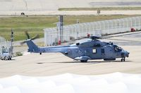 17 @ LFML - NHI NH-90 NFH Caiman, Departure for test flight, Marseille-Provence Airport (LFML-MRS) - by Yves-Q