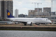 D-AECE @ EGLC - Just landed at London City. - by Graham Reeve