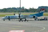 LX-LGM @ ELLX - Parked at Luxembourg (Findel).