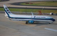 N277EA @ ATL - Eastern 737-800 San Francisco Giants baseball team