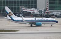 N278EA @ MIA - Eastern Airlines Florida Panthers NHL 737-700