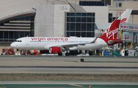N282VA @ LAX - Virgin America