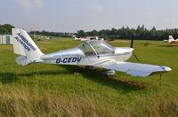 G-CEDV @ EGHP - Cosmik EV-97 TeamEurostar at Popham. - by moxy