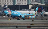 N318AS @ LAX - Alaska Spirit of Disneyland II