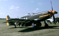 G-BTCD @ EGSU - At the 1994 Flying Legends Air Show. - by kenvidkid