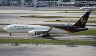 N334UP @ MIA - UPS 767-300