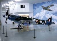 N114BP @ KFCM - At Planes of Fame East, Eden Prairie. - by kenvidkid