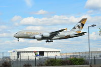 A6-APG @ EGLL - Landing LHR - by Sewell01
