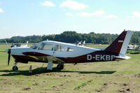 D-EKBF @ EDHE - Piper PA-28R-200 Arrow II parked at Uetersen airfield, Germany - by Van Propeller