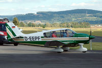 D-EEPF @ EDFC - Robin DR.400-180S Regent ready for take-off from Aschaffenburg airport, Germany - by Van Propeller