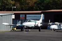 D-IARP @ EDFC - Cessna 340 parked at Aschaffenburg airport, Germany - by Van Propeller