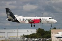 N341AG @ FLL - Silver Airways