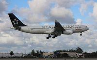 N342AV @ MIA - Avianca Star Alliance