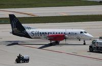 N346AG @ FLL - Silver Airways