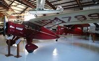 N14799 @ MOT - NC14799 Fairchild 24 C8C C/N 2671 at Dakota Territory Air Museum, Minot North Dakota - by Pete Hughes