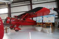N13872 @ MOT - NC13872 Stinson SR-5A Reliant c/n 9251A at Dakota Territory Air Museum, Minot North Dakota - by Pete Hughes