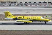 D-CEXP @ LMML - Gates Learjet35 D-CEXP Air Alliance - by Raymond Zammit