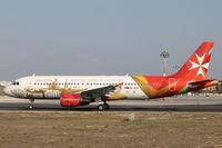 9H-AEO @ LMML - A320 9H-AEO Air Malta - by Raymond Zammit