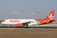 9H-AEP @ LMML - A320 9H-AEP Air Malta - by Raymond Zammit