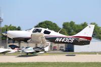N443CS @ KOSH - Cessna T240