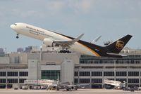 N358UP @ MIA - UPS 767-300