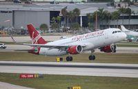 N361VA @ FLL - Virgin America