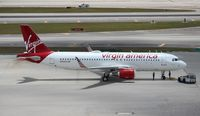 N363VA @ MIA - Virgin America