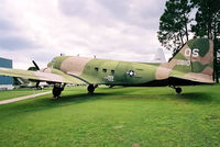 44-76486 @ KVPS - At the Eglin Memorial Air Park, wearing false marks as 43-0010. - by kenvidkid
