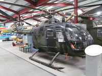 81 00 - Also reg as D-HZYR.  At The Helicopter Museum, Weston-super-Mare, UK. - by magnaman