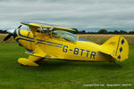 G-BTTR @ EGCV - at Sleap - by Chris Hall
