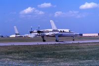 N1548S @ OKC - At Aerospace America Airshow 1990, Oklahoma City - by afcrna