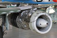 500071 @ EDNX - View of the turbine engine. In Deutsches Museum Flugwerft Schleissheim, near Munich.  - by olivier Cortot