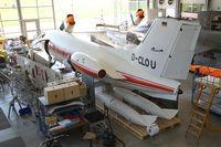 D-CLOU @ EDNX - In the museum's workshop. Deutsches Museum Flugwerft Schleissheim, near Munich. - by olivier Cortot
