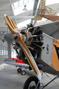D-EOSM @ EDNX - Nice propeller. In Deutsches Museum Flugwerft Schleissheim, near Munich. - by olivier Cortot