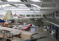 D-1001 @ EDNX - In Deutsches Museum Flugwerft Schleissheim, near Munich. - by olivier Cortot