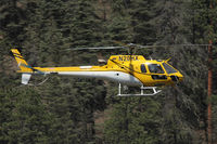 N20HX - Working the Jaroso Fire near Cowles, New Mexico