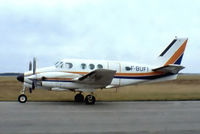 F-BUFI @ LFOQ - Beech 65-90 King Air [LJ-4] Blois-le-Breuil~F 23/09/1982. From a slide. Not the best of images.