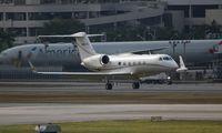 N450RG @ MIA - Gulfstream G350