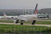 F-GUGL @ LFPG - Airbus A318-111, Taxiing, Roissy Charles De Gaulle Airport (LFPG-CDG) - by Yves-Q