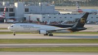 N458UP @ MIA - UPS 757-200 - by Florida Metal