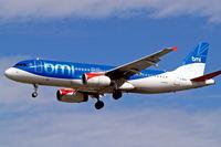 G-MIDU @ EGLL - Airbus A320-232 [1407] (bmi British Midland) Heathrow~G 01/09/2006. On finals 27L.